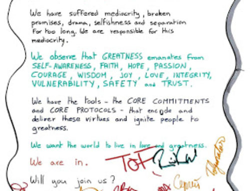 Manifesto for Greatness